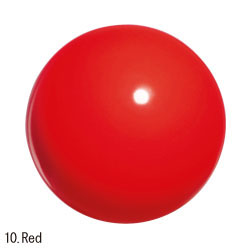 052 (10).Red Chacott practice gym ball мяч юниорский 17 см